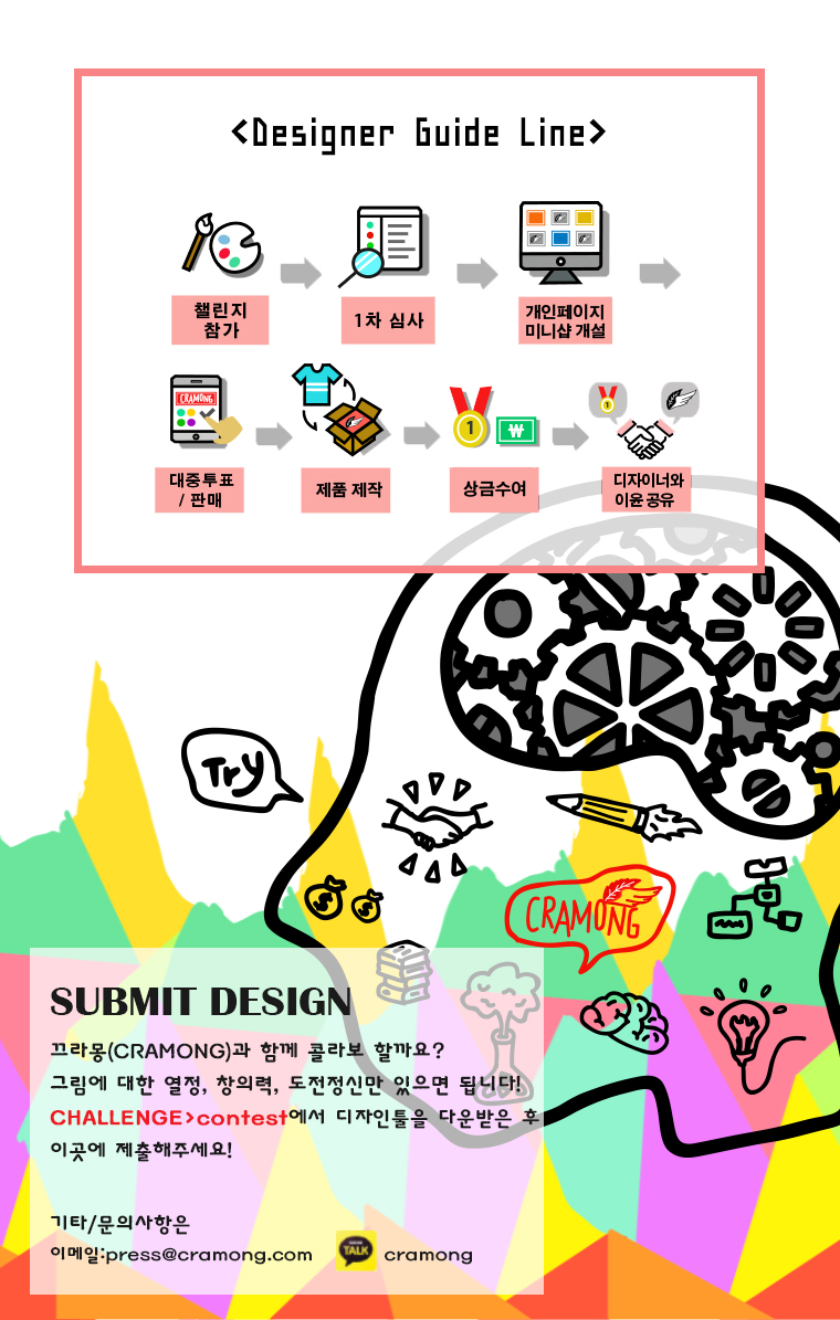 Submit Design 모바일용